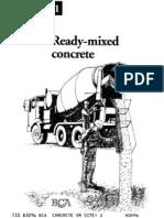 1-Ready Mixed Concrete