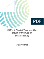 OgilvyEarth 2009 Sustainability Trends