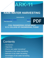 ppt on Rain Water Harvesting
