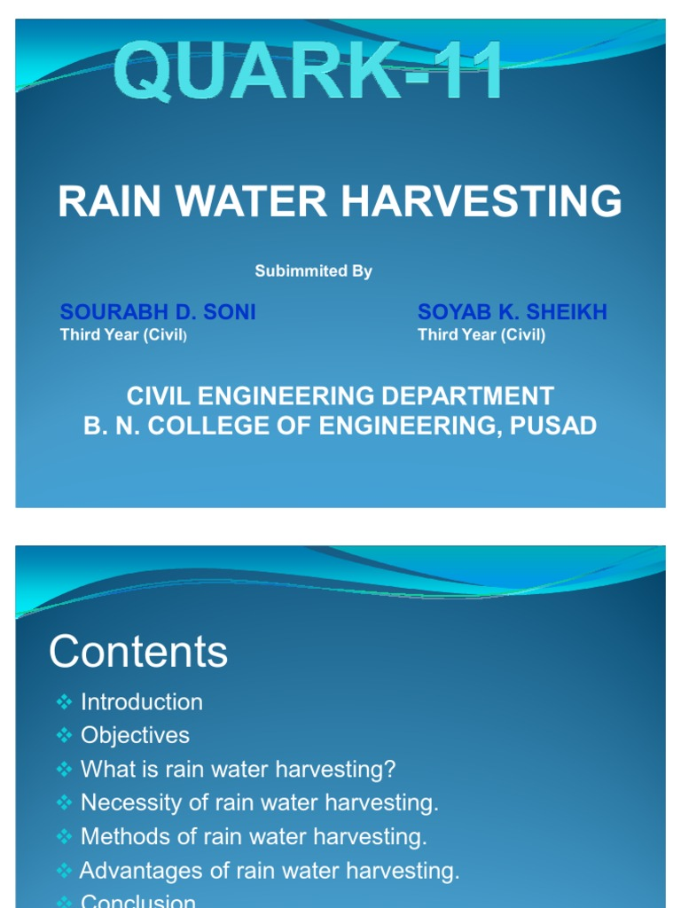 Ppt what is rainwater harvesting?? Powerpoint presentation id.