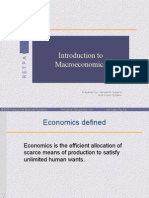 Chapter 1 - Introduction of Macroeconomics