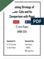 Marketing Strategy of Coca