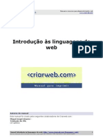 Manual Introducao Linguagens Do Web