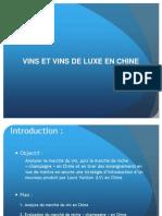Vin Et Vin de Luxe en Chine