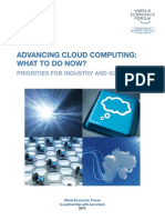 WEF IT Advanced Cloud Computing Report 2011
