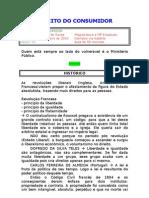 caderno - DIREITO DO CONSUMIDOR - Luiz Antônio de Souza - Damásio - 2010 - 1º semestre