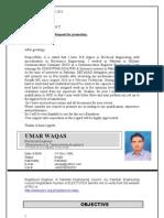 Umar Waqas Muhammad Resume.
