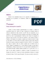 Física - Capacitores y dialéctricos
