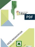 Excel Presentation Modern