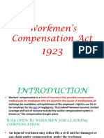 workmen's compensation act