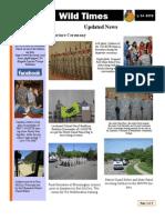BSTB Wild Times Newsletter June 2011