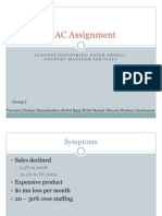 Grp 2_Clayton Industries_WAC Group Assignment _1