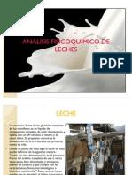Analisis Fisicoquimico de Leches