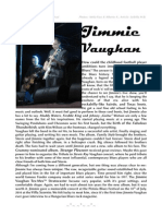 Interview with Jimmie Vaughan, 2010, Italy