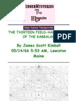 13 Field Harmonics Kabbalah