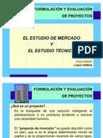 Curso FORMULACI+¦N  ESTUDIOS MERCADO Y TECNICO