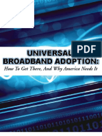 UNIVERSAL BROADBAND ADOPTION