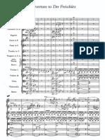 Weber - Der Freischutz Overture - Full Score