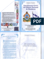 Cuestionario Civico Del Himno Nacional de Honduras