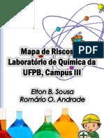 Mapa de Risco do Laboratório de Química-UFPB