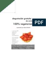 degustación vegana gratuita