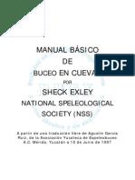 Manual básico de buceo en cuevas