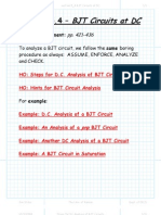 BJT Circuits at DC Package