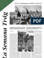 """Monográfico centenario """"Semana trágica"""" de 1909 - Solidaridad Obrera"""