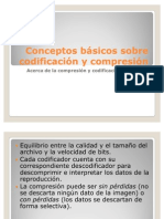 Conceptos básicos sobre codificación y compresión
