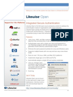 Likewise Open Datasheet