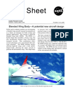 Blended Wing Body-A Potential New Aircraft Design
