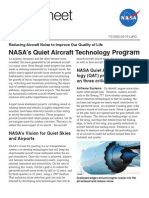 NASA's Quiet Aircraft Technology Program