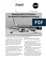 Research Aims to Prevent Accidents on Hazardous Runways