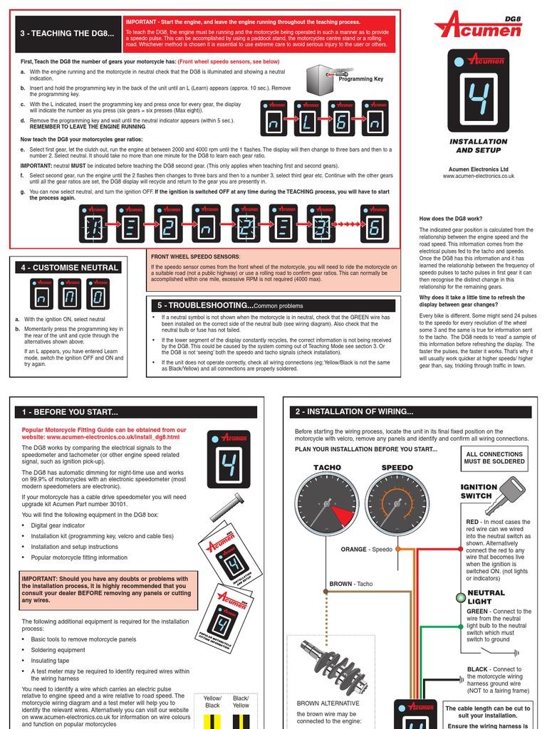 1197905466_Acumen DG8 | Electrical Wiring | Ignition SystemScribd