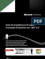 Guía Arquitectura N-Capas Orientada al Dominio - Microsoft Architecture (1a Edicion Noviembre 2010)