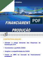 FINANCIAMENTO A PRODUÇÃO MPE