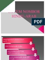 Sistem Nombor Hindu-Arabic
