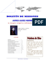 BOLETIN DE MISIONES 11-07-2011