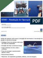 Simo - Simulação de Operações Marítimas