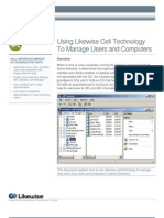 Using Likewise Cell Technology To Manage Users and Computers