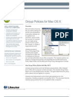 Group Policies for Mac OS X