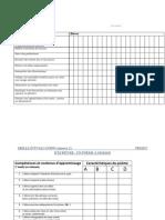 grille d'observation lecture (Annexe 1)Grille évaluation adaptée(annexe 2)
