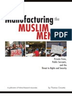 Manufacturing the Muslim Menace