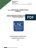 Normas Generales Reglamentos Lab Oratorios