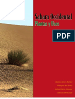 Estudio etnobotánico del Sahara Occidental