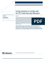 Comply with the PCI Data Security Standard