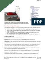 MS Flight Simulator X Help - Piston Engines