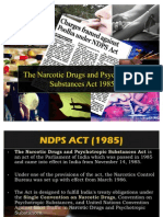 NDPS Act