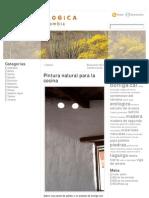 Caseina casaecologica » Pintura natural para la cocina