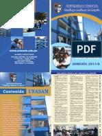 prospecto UNASAM 2011-II
